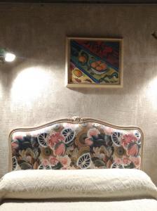tête de lit tissu jungle Catherine Mettetal